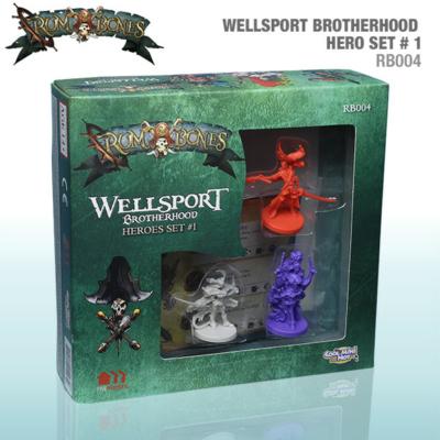Rum & Bones: Wellsport Brotherhood Hero Set 1