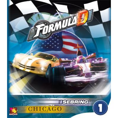 Formula D: új pályák 1 - Sebring & Chicago