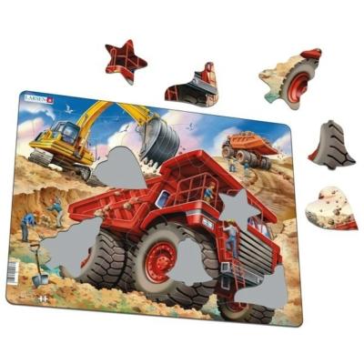 Larsen maxi puzzle 33 db-os - Óriás teherautó US36