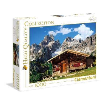 Clementoni 1000 db-os puzzle - Ausztriai hegy 39297