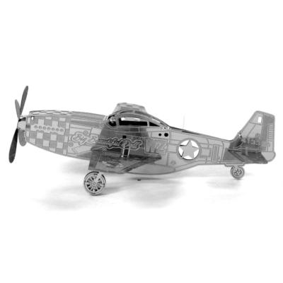 Metal Earth - Mustang P-51 - 3D fémépítő