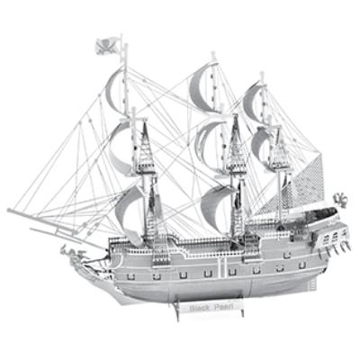 Metal Earth - Iconx - Black Pearl- 3D fémépítő