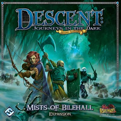 Descent 2nd Edition - Mists of Bilehall kiegészítő