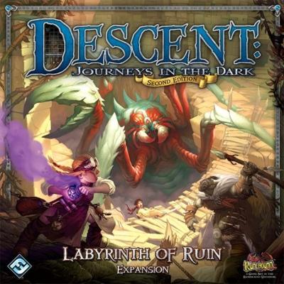 Descent 2nd edition - Labyrinth of Ruin kiegészítő