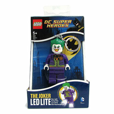 Lego világító kulcstartó Joker