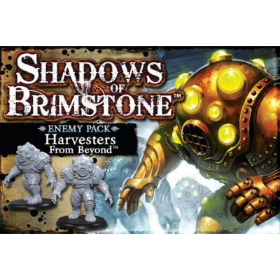 Shadows of Brimstone: Harvesters from Beyond Enemy Pack kiegészítő