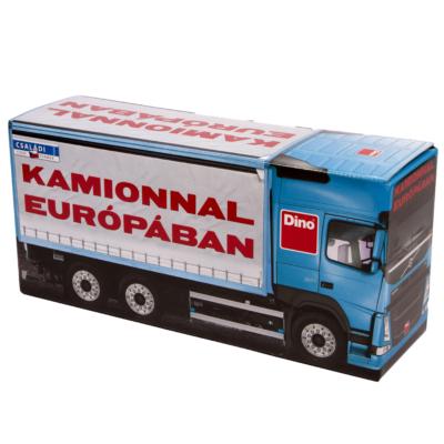 Kamionnal Európában