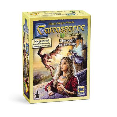Carcassonne: 3. kiegészítés A hercegnő és a sárkány