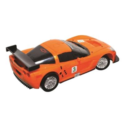 3D Puzzle - Chevrolet Corvette C6R -narancssárga
