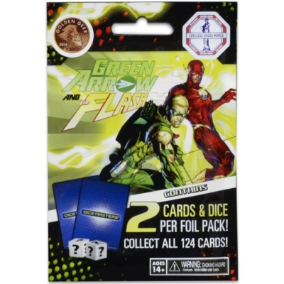 DC Comics Dice Masters: Green Arrow and The Flash booster