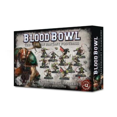 Blood Bowl: The Skavenblight Scramblers csapat