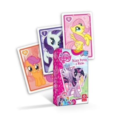 My little Pony MINI Fekete Péter és memória játék