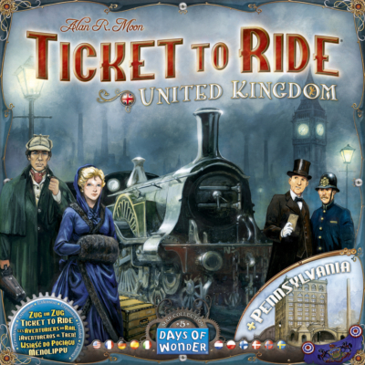 Ticket to Ride Map Collection 5: United Kingdom & Pennsylvania