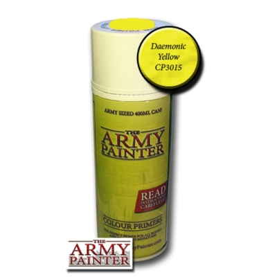 Army Painter Daemonic Yellow alapozó spray (400 ml)