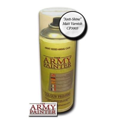 Army Painter Anti-shine Matt Varnish spray (400 ml)