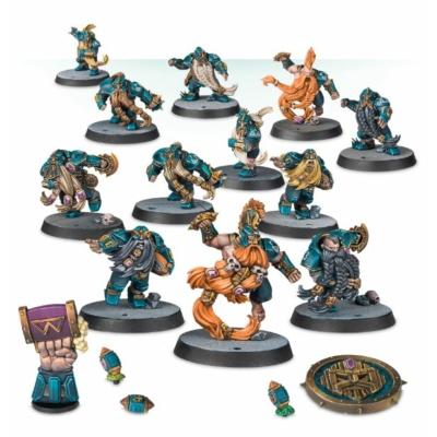 Blood Bowl: The Dwarf Giants csapat