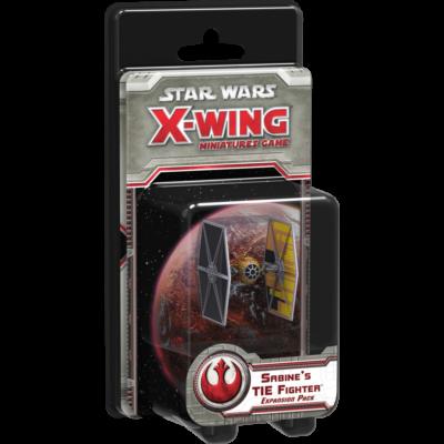 Star Wars X-Wing: Sabine's TIE expansion pack