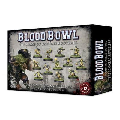 Blood Bowl: The Scarcrag Snivellers  - Goblin csapat