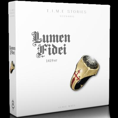 T.I.M.E Stories (Time Stories) – Lumen Fidei kiegészítő (angol)
