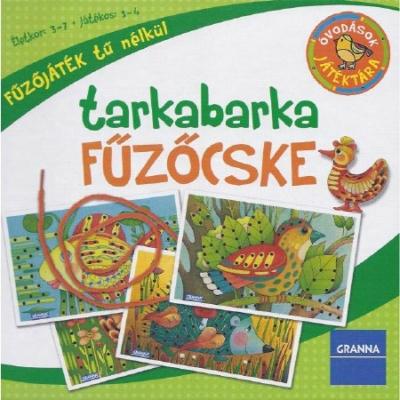 Óvodások játéktára Tarkabarka fűzőcske (Új kiadás)