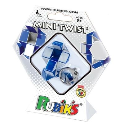 Rubik kígyó kulcstartó hexa csomagolásban