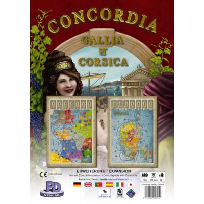 Concordia: Gallia & Corsica kiegészítő (angol)