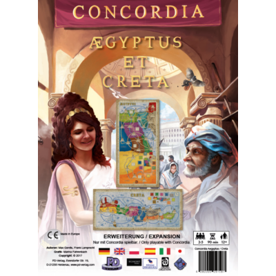 Concordia: Aegyptus & Creta kiegészítő