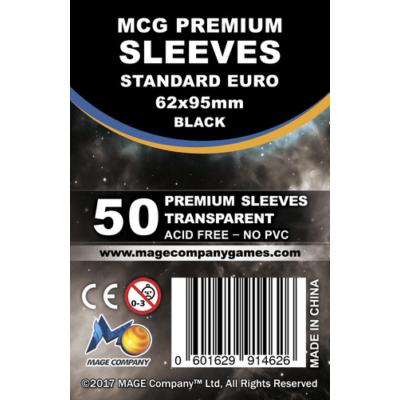 MCG Premium Standard Euro kártyavédő (sleeve) - 50db/csomag