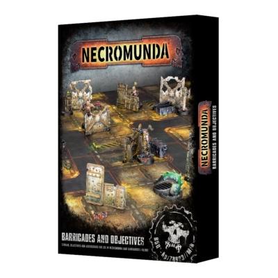 Necromunda: Barricades and Objectives