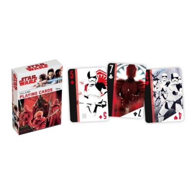 Star Wars VIII. Az utolsó Jedik póker kártya / Gonosztevők