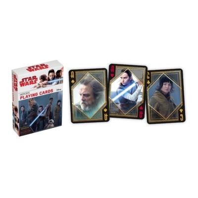 Star Wars VIII. Az utolsó Jedik póker kártya / Hősök