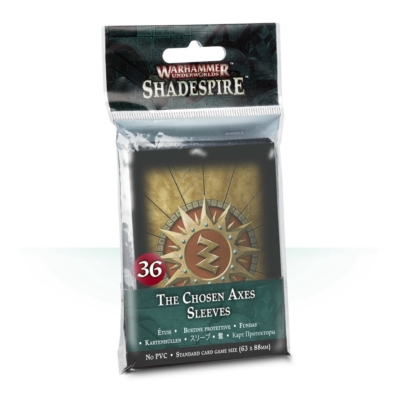 Shadespire: The Chosen Axes Sleeves
