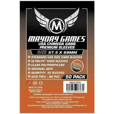 Mayday US Chimera premium kártyavédő (sleeve) -57,5*89 mm (50 db/csomag)