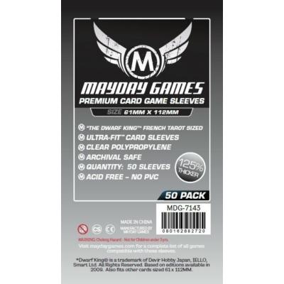 Mayday Magnum premium kártyavédő (sleeve) - 61*112 mm (50 db/csomag)