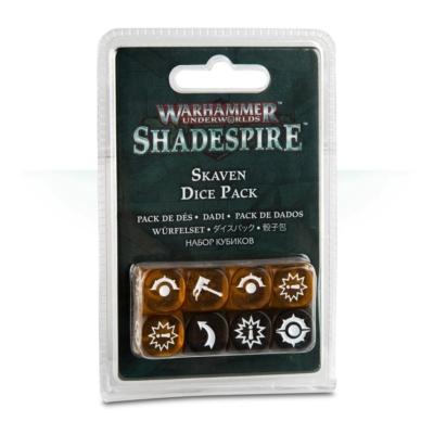Shadespire: Skaven Dice Pack