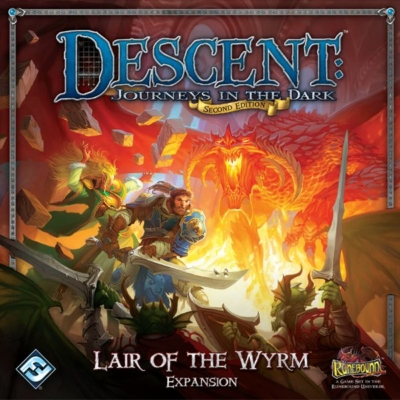 Descent 2nd Edition - Lair of the Wyrm kiegészítő