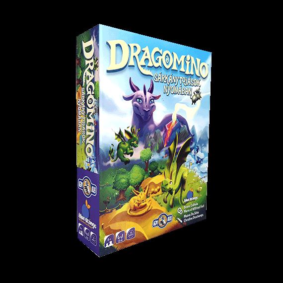 Dragomino, a díjnyertes Kingdomino gyerek változata